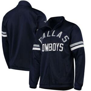 half off d83a7 b4215 Details about Dallas Cowboys NFL G-III Sports Veteran Full Zip Track Jacket  - Navy