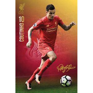 Liverpool-Coutinho-2016-17-POSTER-61x91cm-NEW-Premier-League-Soccer
