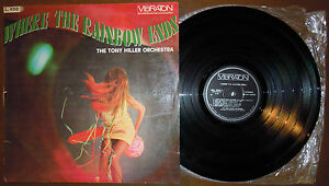 LP-TONY-HILLER-ORCHESTRA-Where-the-rainbow-Vibraton-68-ITALY-funk-lounge-NM