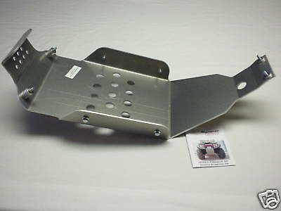 Honda Rancher 350-03 Small Skid Plate Aluminum
