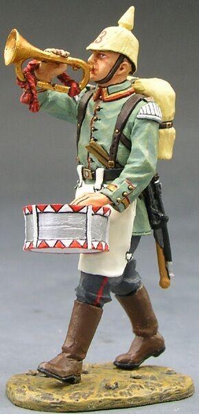 King & Land Erste Krieg FW008 WW1 Deutsch Marsch Trompeter MIB