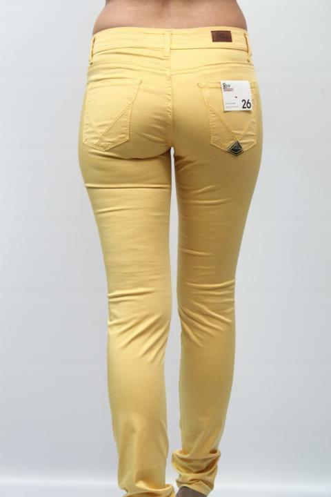 JEANS  - 50% DONNA ROY ROGER'S CATE GIALLO PP 98% COTONE 2% ELASTAM