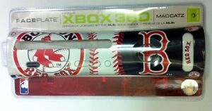NEW-Official-Boston-RED-Sox-MLB-Faceplate-for-Microsoft-XBOX-360