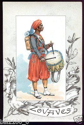 armée Française.historique & uniformes.régiments de Zouaves.1840-1848. ALGER