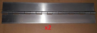 Boat//Door//Craft Continuous DIY 3//4 6 pc .025 Aluminum Piano Hinge Door 9 x .75