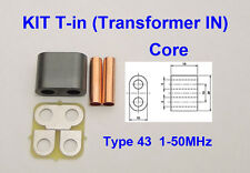KIT RF Transformer ferrite 43 Amplifier SD2933 VRF2933 MRF150 BLF188 BLF578
