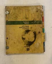 John Deere 6600 7700 Combines Technical Manual Tm 1021 February 1973