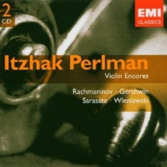I./SANDERS,S. PERLMAN - ENCORES (ZUGABESTÜCKE) 2 CD NEU