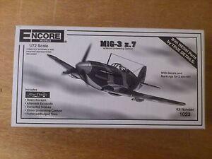 1-72-Encore-Models-Nr-1023-Mig-3-par-exemple7-Kit-EMBALLAGE-D-039-ORIGINE