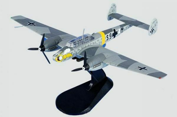 HOBBYMASTER 1 72 Messerschmitt BF110E S9+AM 4 Staffel ZG.1 Inverno 1941 2