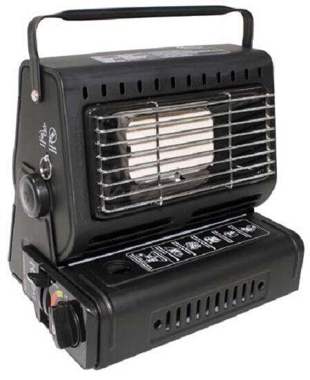 Gasheizer CON PIEZO ACCENSIONE radiatore riscaldonnato pulpito Riscaldonnato Da Campeggio NUOVO