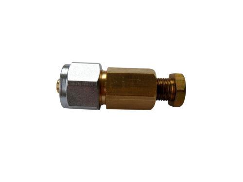VF2393A Leitungsverbinder LPG Flexleitung auf Kupferleitung Ø 8//6mm Kupplung