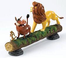 Disney Enchanting Lion King Hakuna Matata Simba Pumbaa Timon Figure 16cm A27708