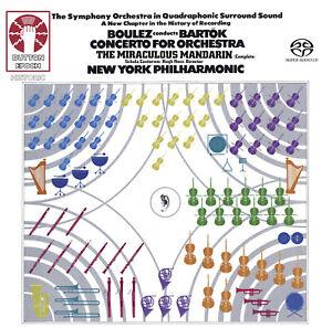 Pierre Boulez Conducts Bartok: Concerto for Orchestra[SACD Hybrid Multi-channel]