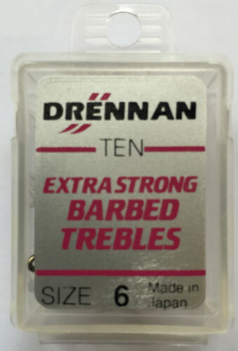 Drennan Trebles Drillinge Hechtangeln Deadbaiting made in Japan Neu versch.Sort.