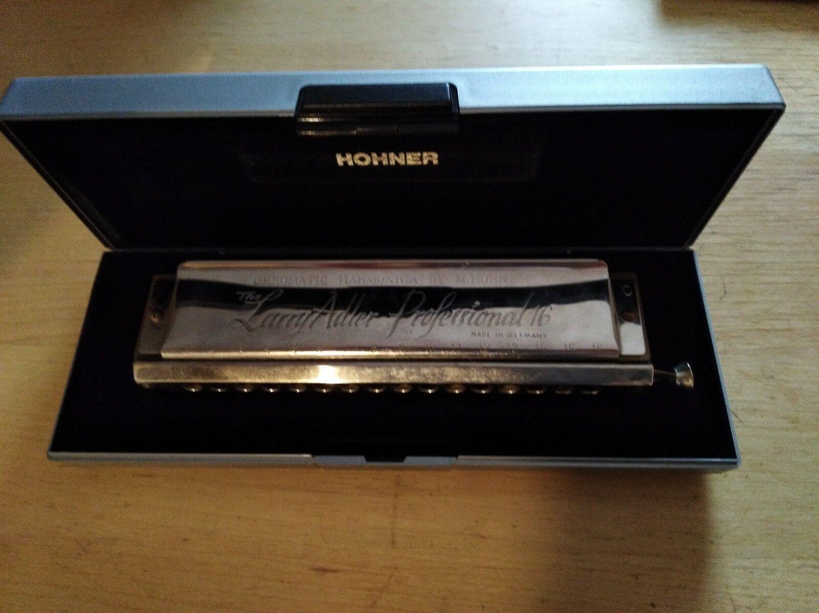 M. Hohner Larry Adler Professional 16 Chromatic Harmonica