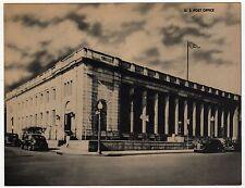 NEW BEDFORD MASSACHUSETTS Jumbo Postcard PC USPS Post Office POSTAL Mass MA