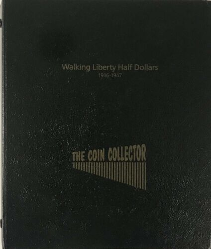 Coin Collecting Album For US Walking Liberty Half Dollars New /& Durable Free S/&h