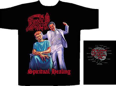 Selbstlos Death Herrenmode Shirts & Hemden Spiritual Healing T-shirt Hohe QualitäT Und Geringer Aufwand