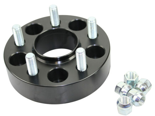 Black Raptor 40mm Aluminium Land Rover Discovery 3 /& 4 2005 - on Wheel Spacers