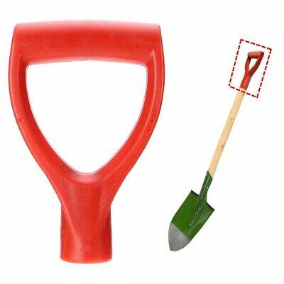 Plastic Scoop Poly D-Grip Handle Lawn Garden Snow Removal Spade Fork Shovel 32mm