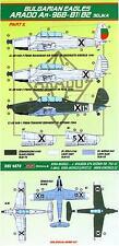 KORA Decals 1/48 ARADO Ar-96B1 & Ar-96B-2 SOJKA Bulgarian Air Force