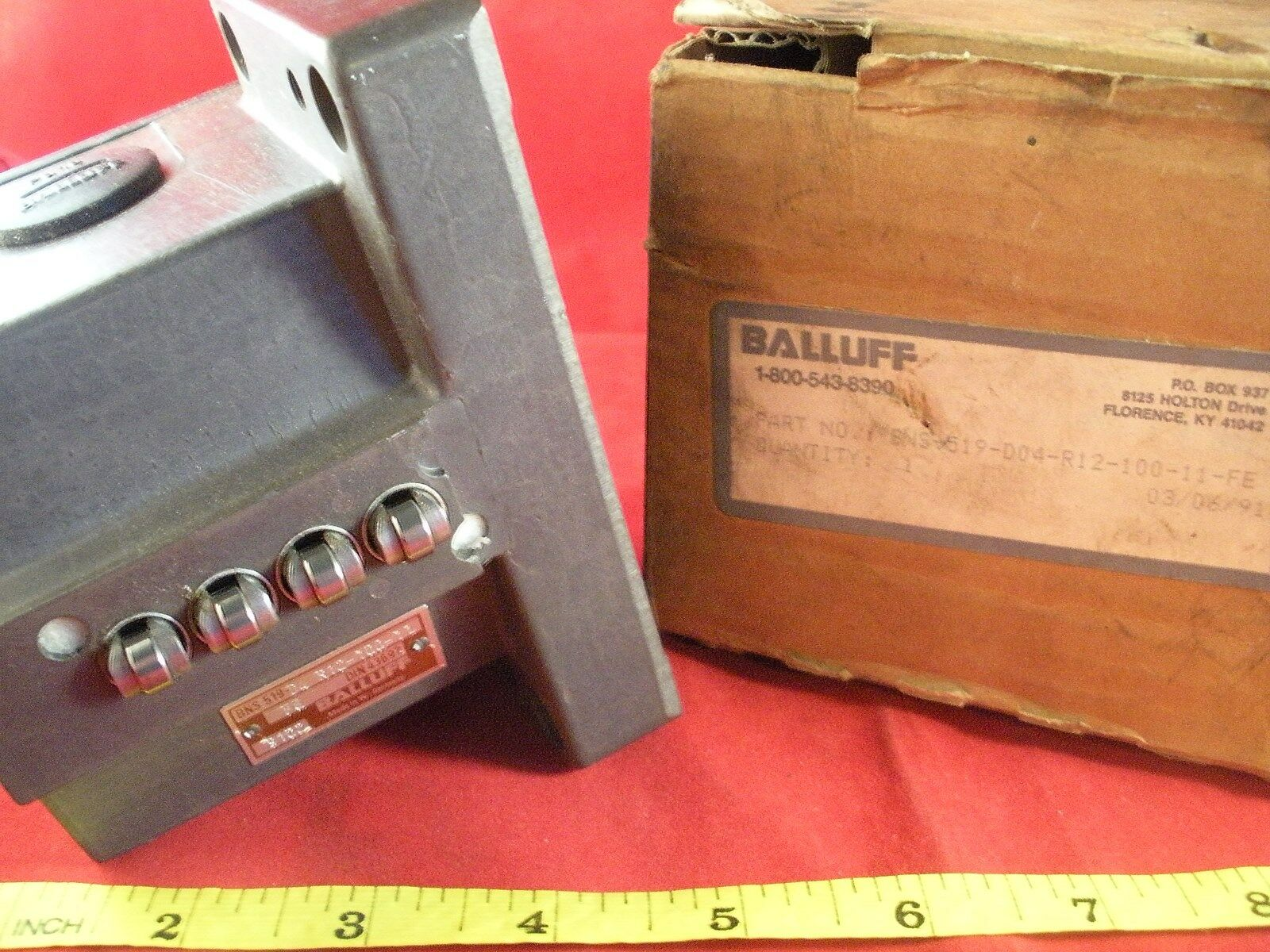 Balluff BNS-519-D04-R12-100-11-FE Proximity Limit Switch BNS-519-D4 4 pin New