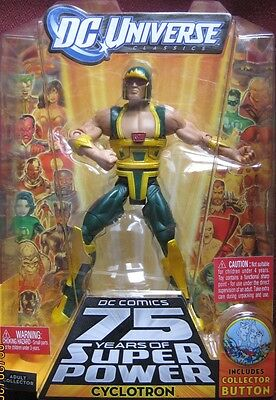 Cyclotron Action Figure 2009 DC Universe Mattel New Unopened
