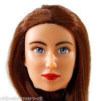 Fembasix Cg Cy Girl Lia Female Figure Head Brown Hair Tan Skin 1:6 Scale