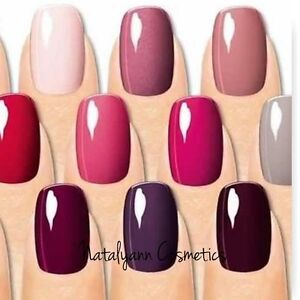 Sally Hansen SALON GEL POLISH GEL NAIL COLOR new AMAZING COLOURS + ...