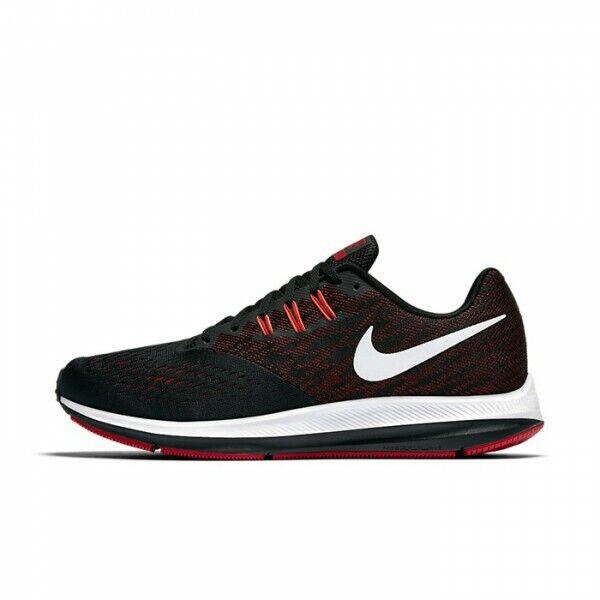 Hombre Nike Zoom Winflo 4 Gimnasio Zapatillas Correr Negras 898466 006 UK 7.5 Ue