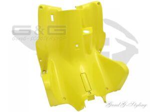 Protector-de-pierna-HABITACULO-Cubierta-en-amarillo-para-YAMAHA-AEROX-MBK-NITRO