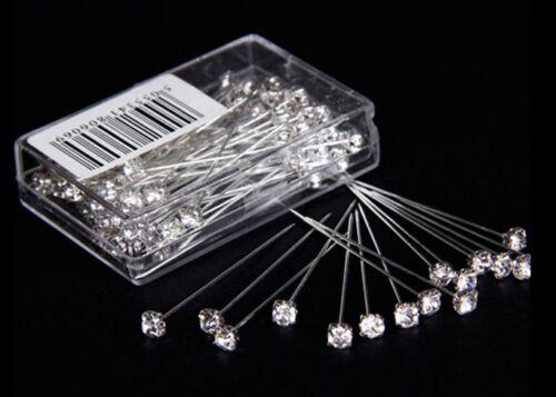 4mm 4cm Calidad Brillante Diamante Pines Bouquet Ojales Corsage Nupcial Boda