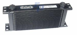 Ölkühler, Setrab Pro Line Serie 6, 16 Reihen, 330 mm, 50-616-7612, raceparts cc