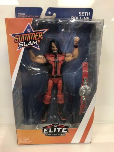 WWE MATTEL ELITE SERIES SummerSlam Elite Seth Rollins Tag Champions Raw Shield