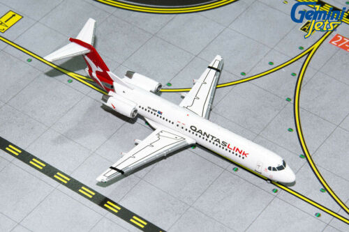 Gemini Jets 1:400 QantasLink Fokker F-100 VH-NHP GJQFA1696 IN STOCK