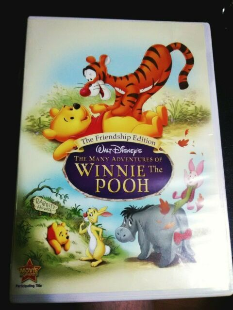 the many adventures of winnie the pooh dvd 2007 the