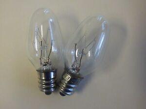 Highest Quality 2 Pack 15 Watt Night Light Bulb Fits