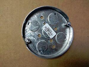 "1 pc 4/"" Octagon Round Metal Electrical Box 1//2/"" Knockouts KO/'s ~Raco 153"
