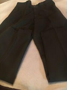 Austin-Men-s-Classic-Fit-Pants-Size-36-X-34-Dark-Green