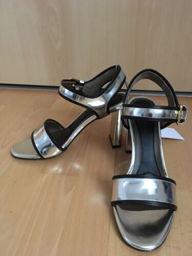 Sandalette Marni silber Gr 37 NEU NP 450 Euro