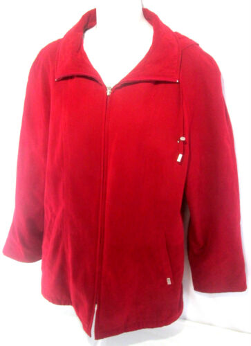 Edition Fog Red Polyester Jacket Limited Medium Kvinder Størrelse 100 M London UqdTExwtU