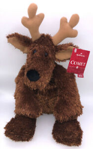 Hallmark-Comet-Reindeer-16-039-039-Plush-Retired-New-With-Tag-Christmas