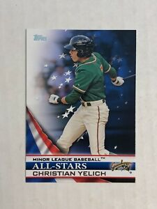 CHRISTIAN-YELICH-2012-Topps-Minor-League-All-Stars-RC-INSERT-CHECK-MY-ITEMS