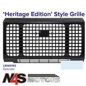 LAND-ROVER-DEFENDER-HERITAGE-EDITION-STYLE-GRILLE-PART-LR069193