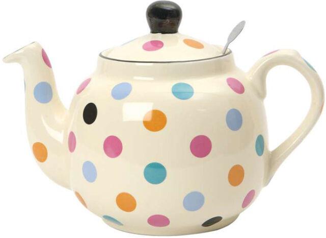 London Pottery UK British Design Farmhouse Multi Spot Filter Teapot