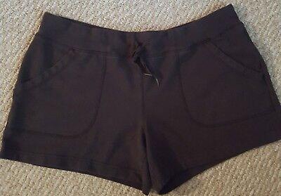 Danskin Now Women's Athletic Gray Drawstring Shorts XL