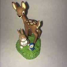 Disney Store PRINCESS ANIMALS Deer Rabbit Bird FIGURINE Cake TOPPER NEW