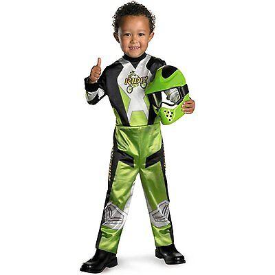 Lil Motocross Rider Kids Costume Size 4-6 2526 Small
