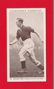 MUFC-MANCHESTER-UNITED-FC-GEORGE-ROUGHTON-Huddersfield-Town-original-1938-card